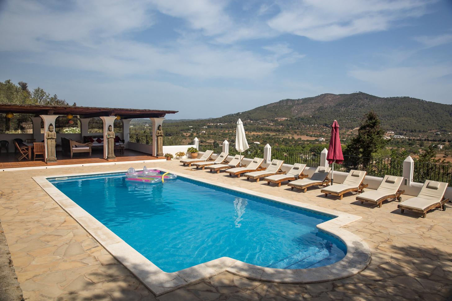 Vakantievilla met eigen zwembad